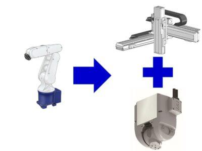 デモ展示用ロボット 導入事例